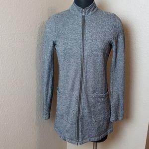 Eileen Fisher Long Sleeve Zip Front Tunic